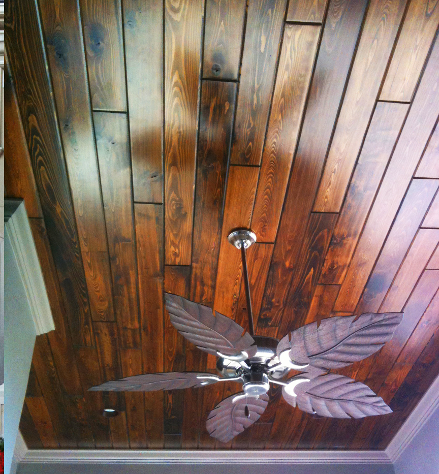 tongue & groove ceiling |