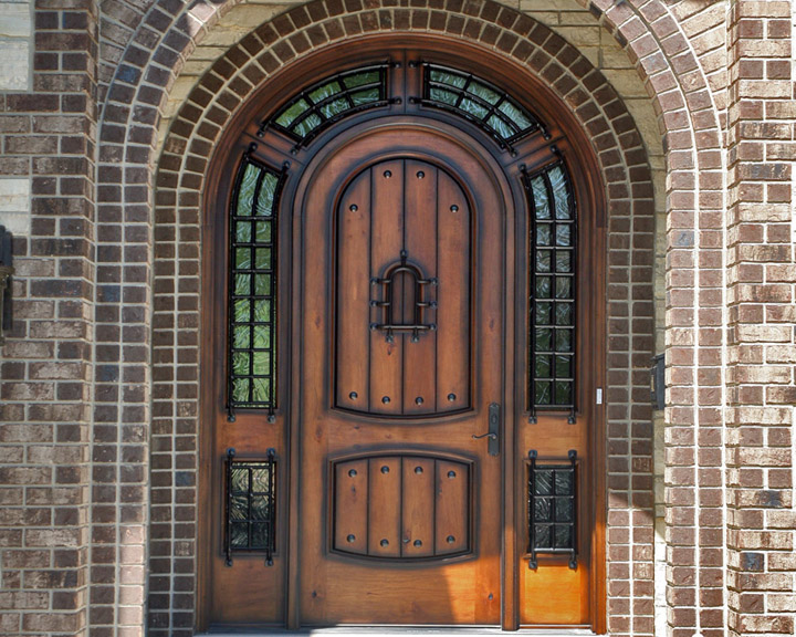 Custom front doors for Unique front entry doors